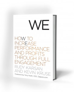 We Book Cover by Karsan and Kruse